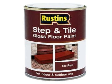 Quick Dry Step & Tile Paint Gloss Red 2.5 litre